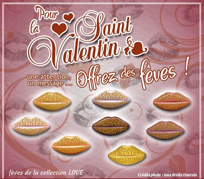 Offrez des fèves pour la Saint Valentin !