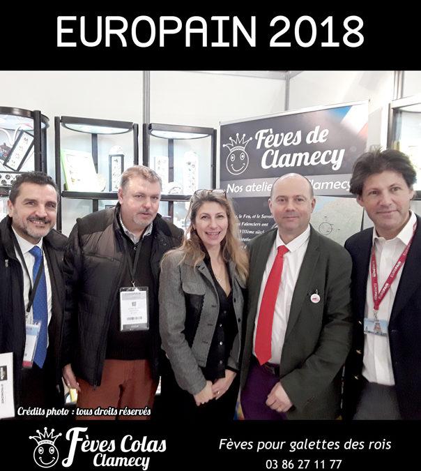 Retour en Image –  salon Europain : la société Favrac Agriflex et  Foricher les Moulins sur le stand des Fèves Colas Clamecy