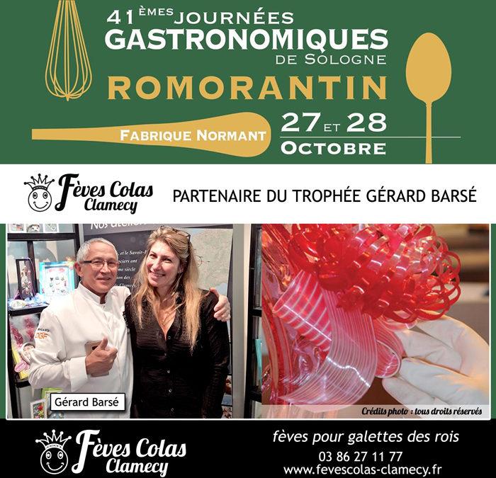 A VOS AGENDAS – Journées Gastronomiques de Sologne Romorantin