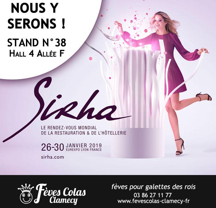 Sirha 2019 – Retrouvez les Fèves Colas Clamecy