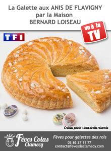 Galette des rois Relais Bernard Loiseau - Chef Patrick Bertron - Feves Colas Clamecy