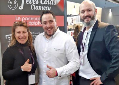 Salon Sirha 2019 Fèves Colas Clamecy Fabrice Pottier membre Toques Françaises
