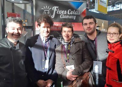 Salon Sirha 2019 Fèves Colas Clamecy et l'Equipe de la Patisserie Chocolaterie Portal